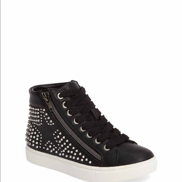 acac087ca7f Steve Madden Rebel hidden wedge sneaker for girls